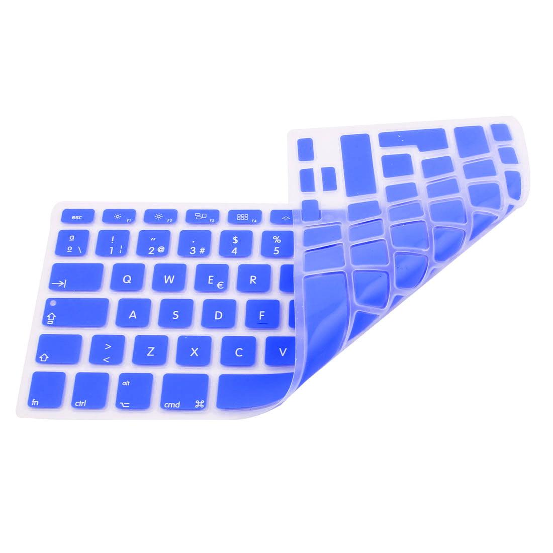 "Spanish Keyboard Skin Cover Dark Blue for Apple Macbook Air 13""15""17"" EU - image 1 of 2"