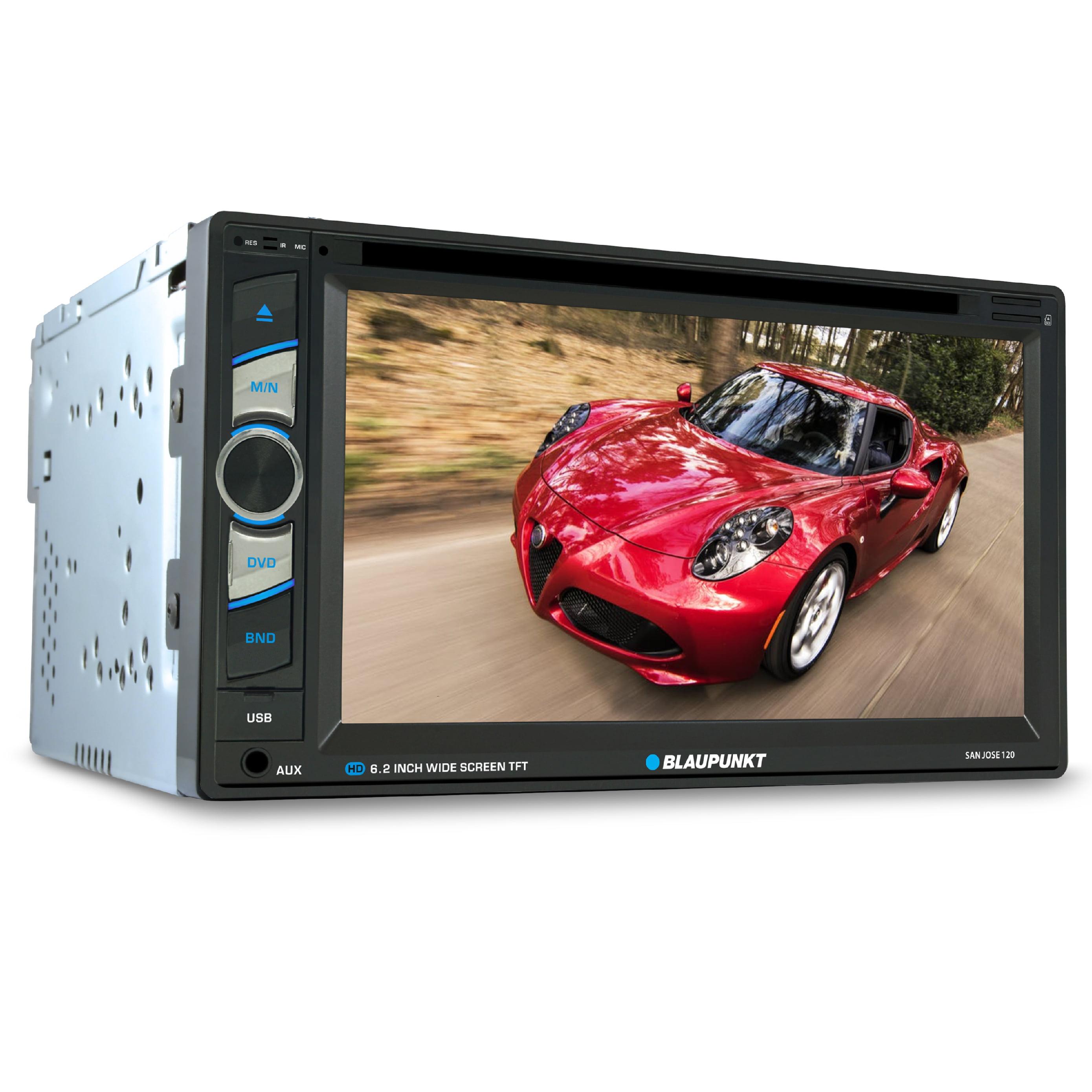 "Blaupunkt 6.2"" Touchscreen DVD Receiver with Bluetooth (SanJose120)"