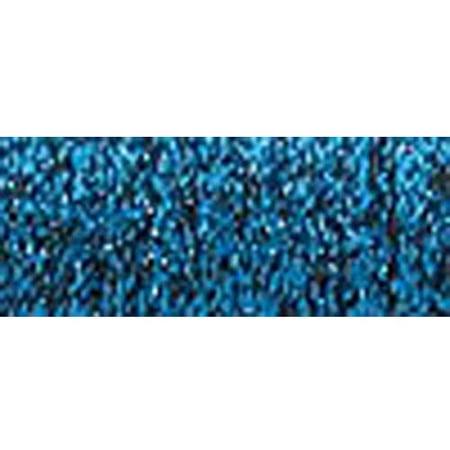 Kreinik Fine Metallic Braid, #8, 11yd, Royal Blue