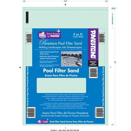 Pavestone Pool Filter Sand