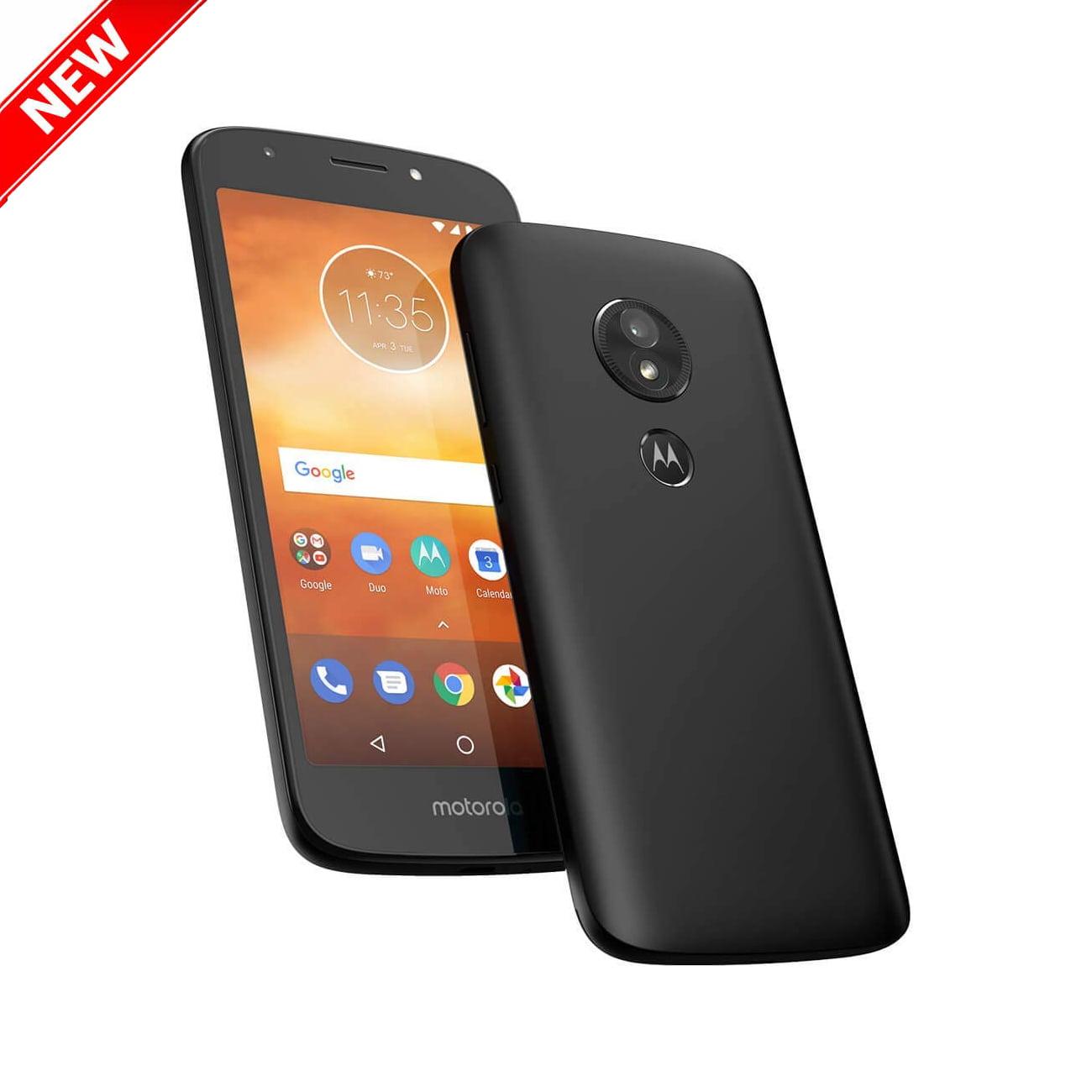 "New Motorola Moto E5 Play 16GB XT1920-19 Dual SIM GSM  Factory Unlocked 4G LTE 5.2"" IPS LCD 2GB RAM 8MP Smartphone - Black - International Version"