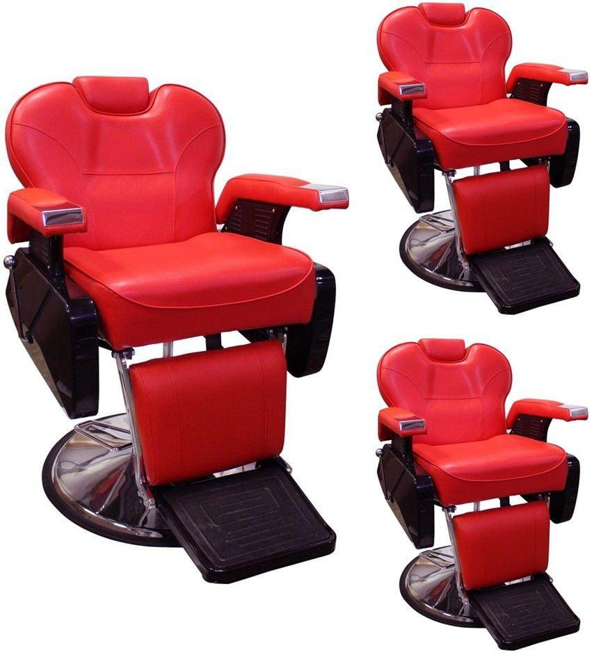 TMS All Purpose Hydraulic Recline Barber Chair Salon Beau...