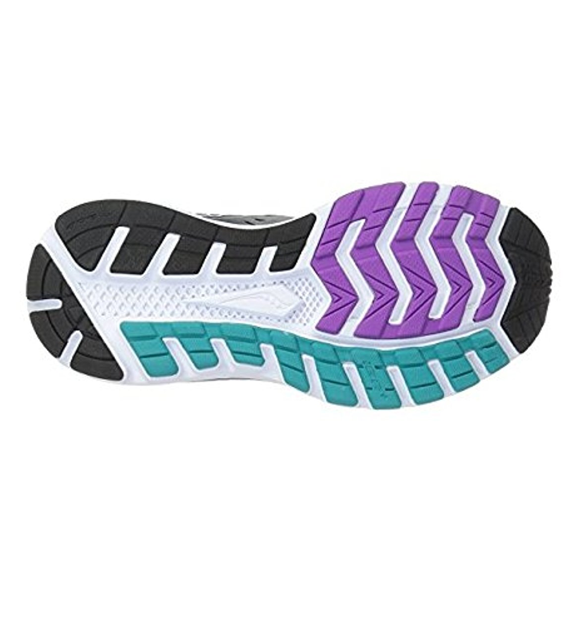 Saucony Women's Breakthru 3 M Running Shoe, Grey/Purple Teal, 8.5 M 3 US 14155c