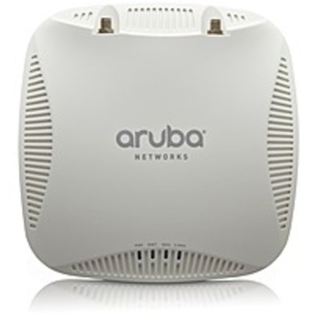 Refurbished Aruba AP-204-F1 IEEE 802.11ac 867 Mbit/s Wireless Access Point - ISM Band - UNII Band - 2 x Antenna(s) - 2 x External Antenna(s) - 1 x Network (RJ-45) - Ceiling Mountable, Wall Mountable