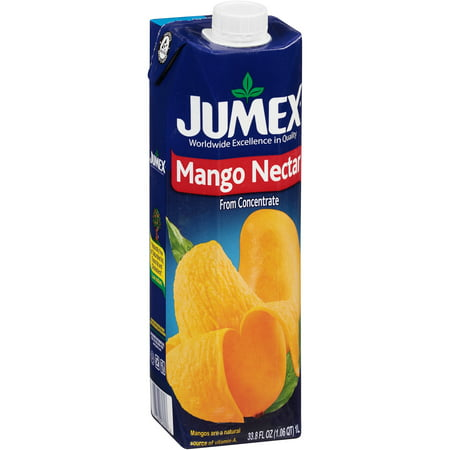 (12 Pack) Jumex Fruit Nectar, Mango, 33.8 Fl Oz, 1 (Jumex Mango Nectar)