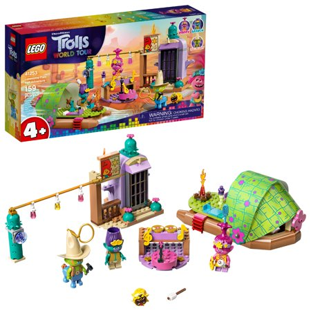 LEGO Trolls World Tour Lonesome Flats Raft Adventure 41253 Building Kit