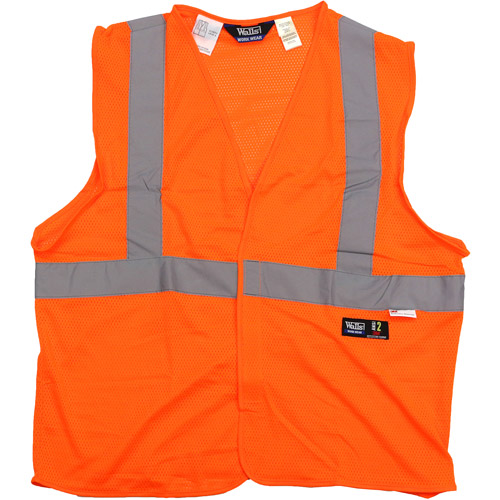 Walls - Men's ANSI 2 High Visibility Mesh Safety Vest