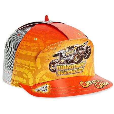 Monster Jam Party Supplies - Trucker Hat](Mobster Hat)