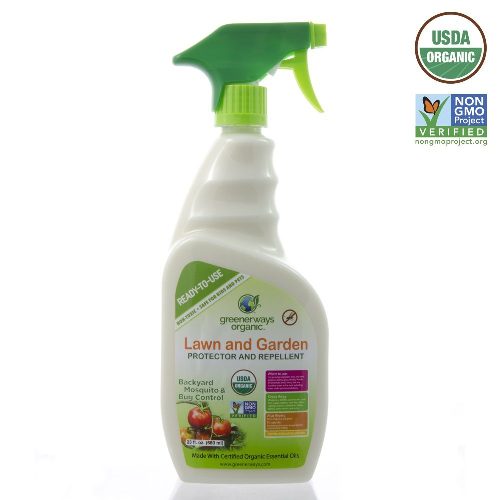 Lovely Greenerways Organic Insecticide Mosquito Repellent, Outdoor Backyard  Repellent Natural Insect Killer, Spray Insecticide,