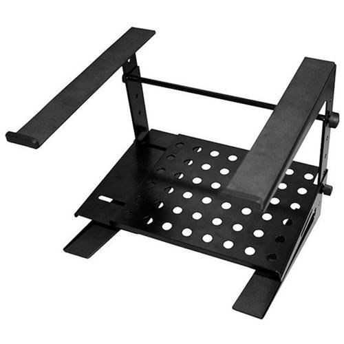 Ultimate JSLPT200 Jamstands Double Tier Laptop Dj Stand