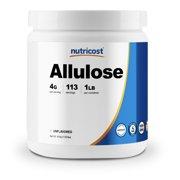 Nutricost Allulose Sweetener (1 LB) - KETO Sugar, 0 Calorie, Zero Net Carbs, Natural Sugar Alternative, Crystalline Powder