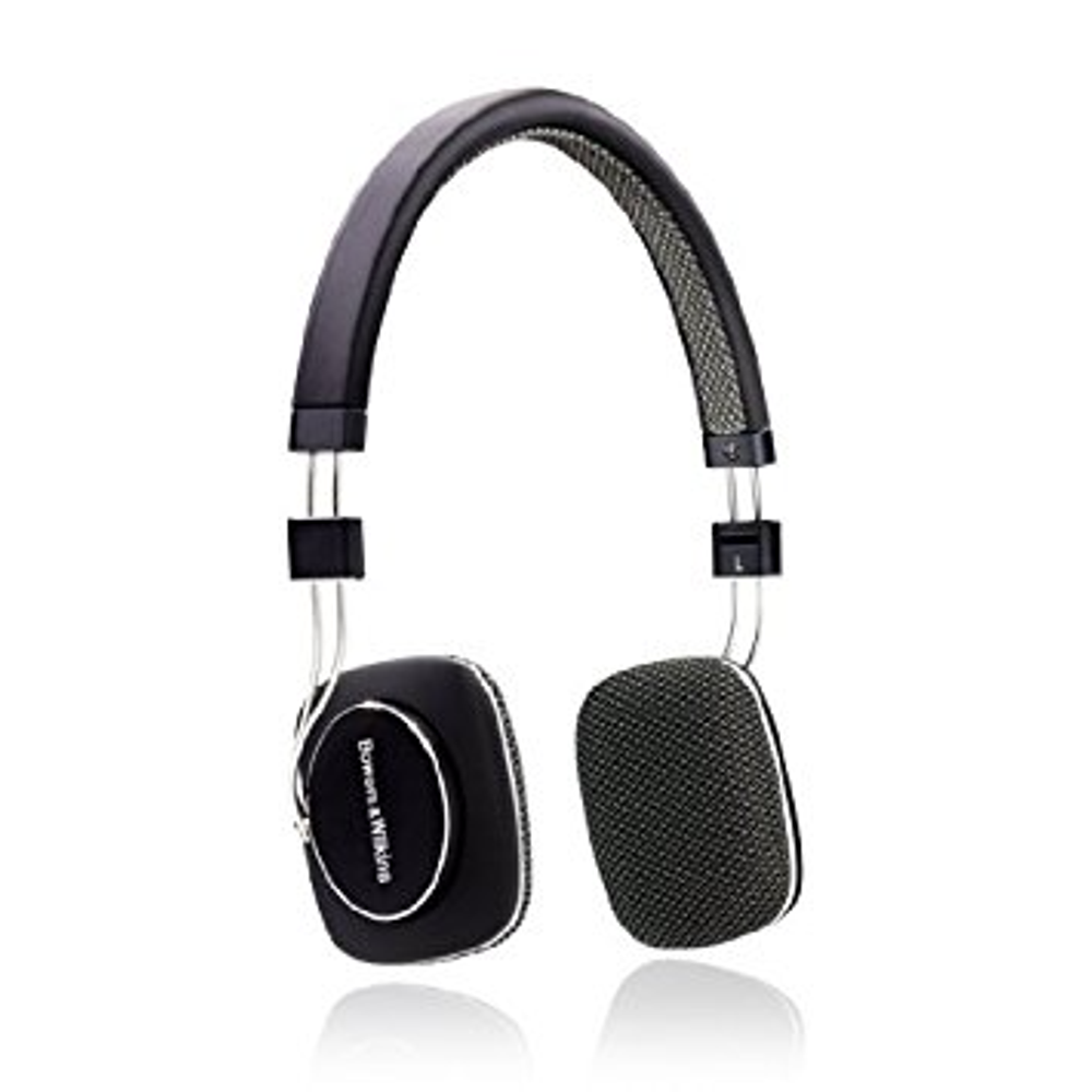 Sealed Bowers & Wilkins P3 On Ear Wired Headphones Mic & Remote Black