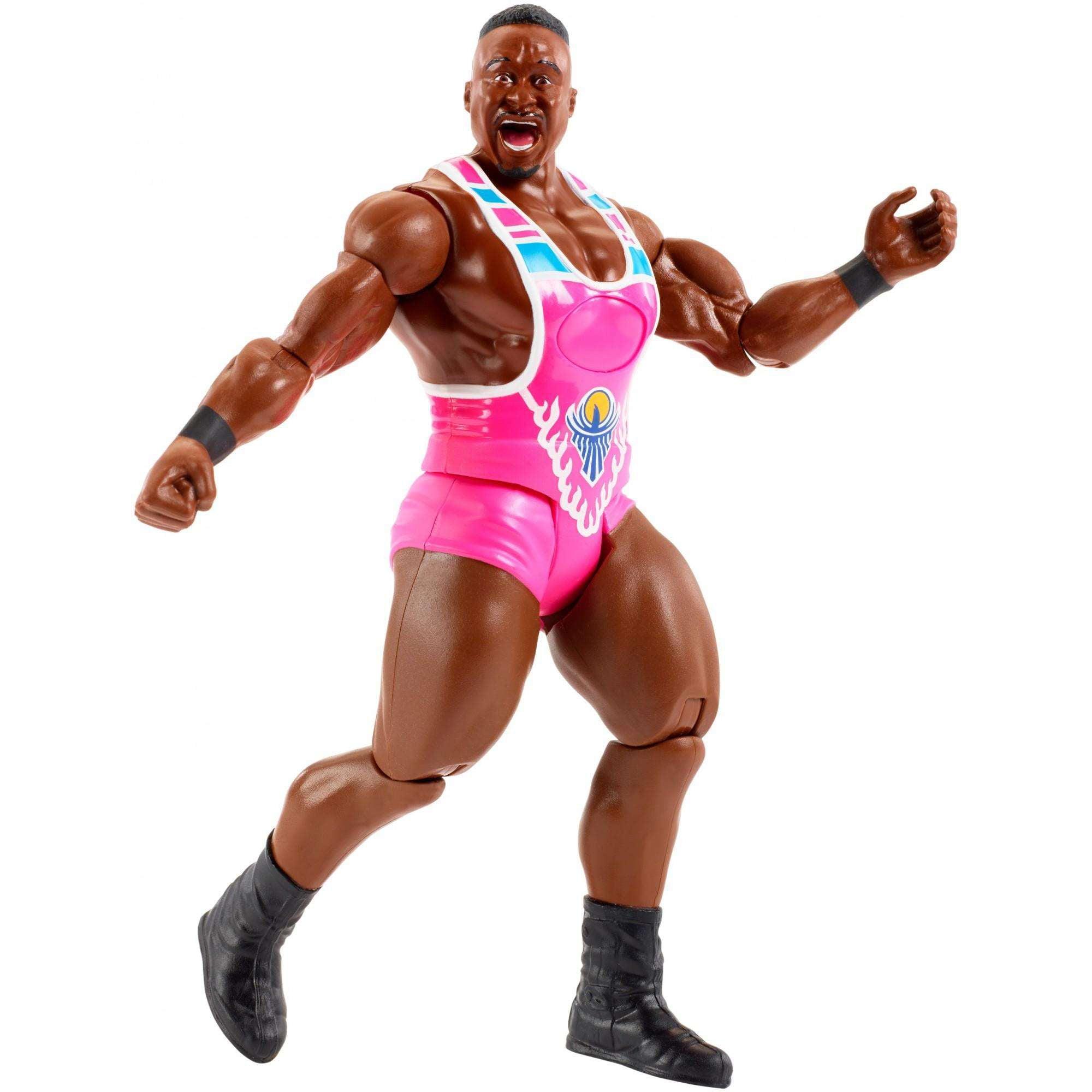 WWE Tough Talkers Big E Figure by Mattel