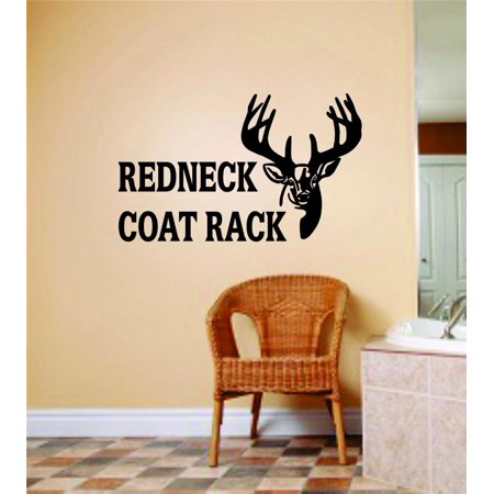 New Wall Ideas Redneck Coat Rack Letters With Deer Buck Head Image Animal Hunting Hunter Man Gun 10 X 20 Inches