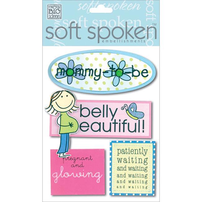 Soft Spoken Themed Embellishments-Pregnancy