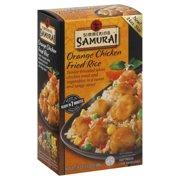 Simmering Samurai Orange Chkn Fried Rice