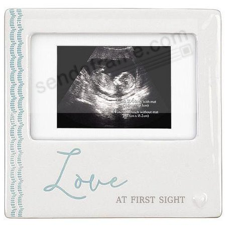 LOVE AT FIRST SIGHT Sonogram frame