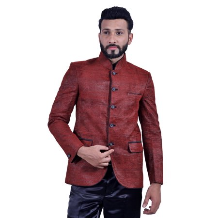 Brick Red Blazer for Men. This product is custom made to order. - image 1 of 5
