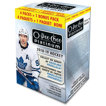 2018-19 Upper Deck O-Pee-Chee Platinum Hockey Factory Sealed 5 Pack Blaster Box ()