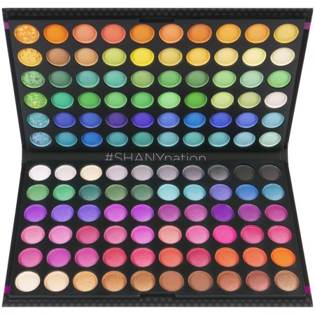 Halloween Makeup Collection (SHANY 120 Colors Eye shadow Palette, Bold and Bright Collection, Vivid)