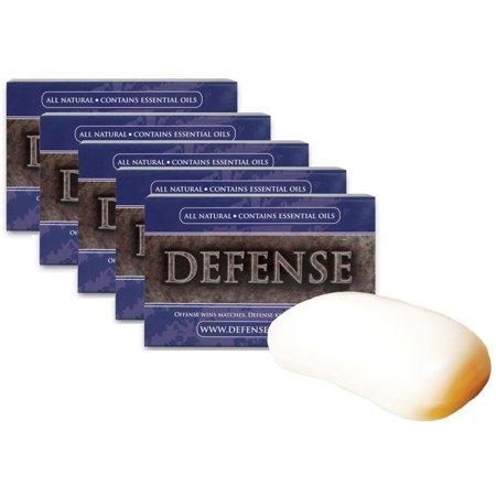 Defense Soap 5 Pack 4 Oz  Soap Body Bar