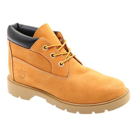 df828ef82325 Timberland - Timberland 3-Eye Chukka Waterproof Wheat Nubuck Junior Big Kids  Boots - Walmart.com
