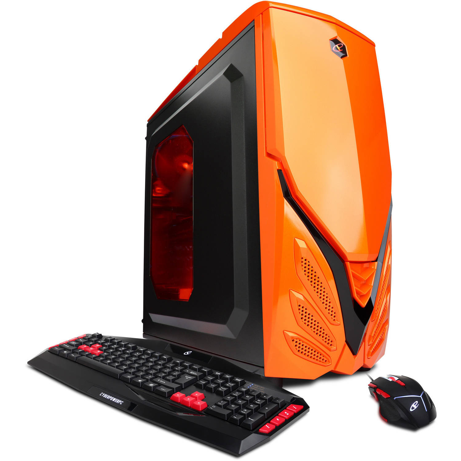 CYBERPOWERPC Orange Gamer Xtreme Gxi850 Gaming Desktop PC with Intel Pentium G4400 Processor, 8GB Memory, 1TB Hard Drive and Windows 10 Home (Monitor Not Included)