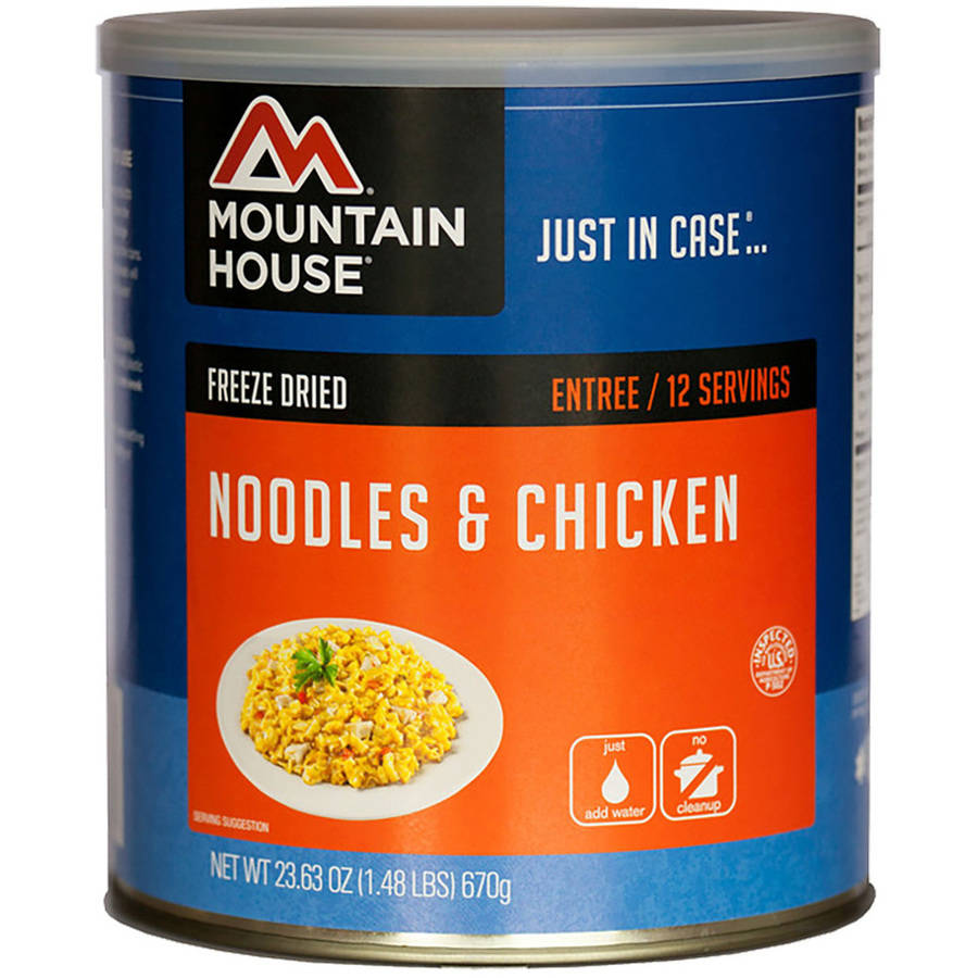 Mountain House Noodles and Chicken Can