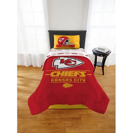 - NFL Kansas City Chiefs Monument Twin or XL Comforter Set