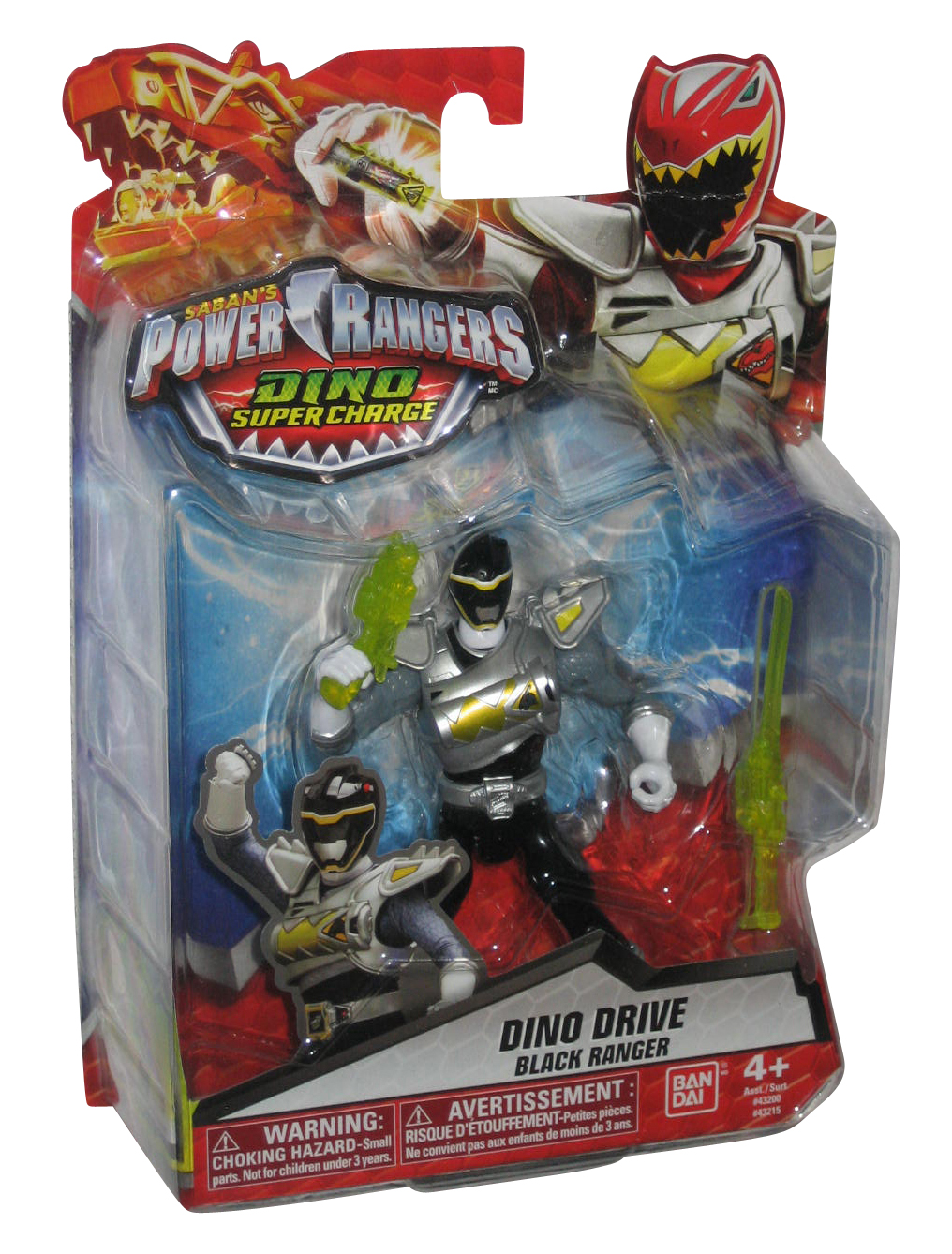 Power Rangers Dino Super Charge Action Figure 5 Black