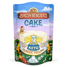 Birch Benders Keto Classic Yellow Cake Mix, 10.9oz