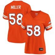 Women's NFL Pro Line by Fanatics Branded Von Miller Orange Denver Broncos Player Jersey