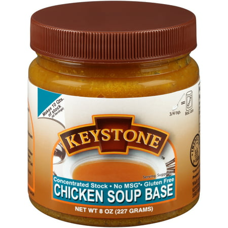 Keystone™ Concentrated Chicken Soup Base Stock 8 oz. Jar