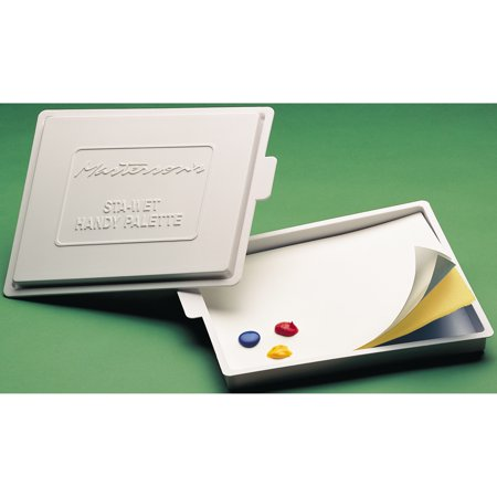 Wet Palette - Masterson Sta-Wet Acrylic Palette With Cover, 8-1/2
