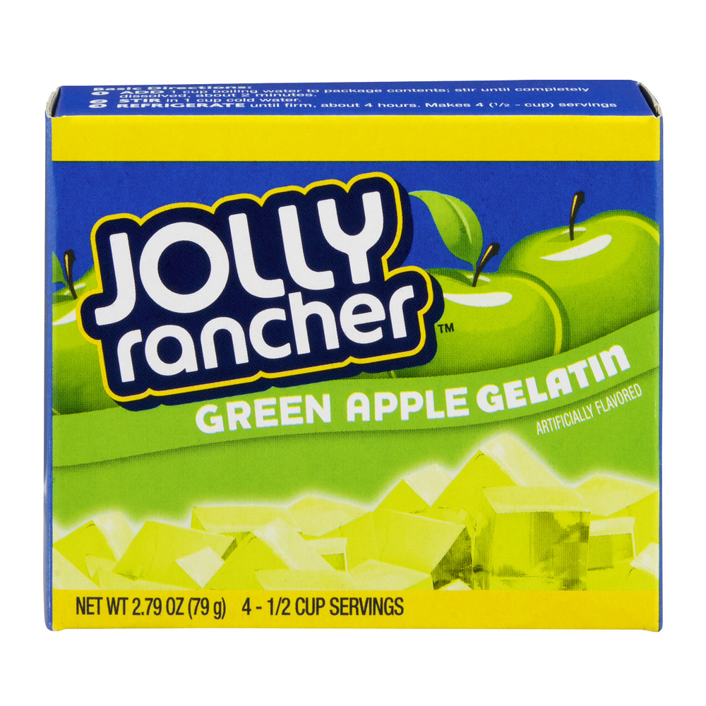 Jolly Rancher Green Apple Gelatin, 2.79 OZ