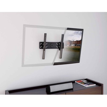 CorLiving T-103-MTM Tilting Flat Panel Wall Mount, Fits most 26″-47″ TVs