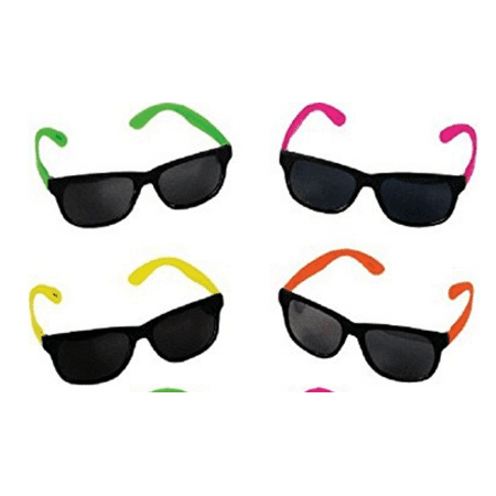 80's Party Fashion (Sunglasses, Neon 80's Style Party, 24)