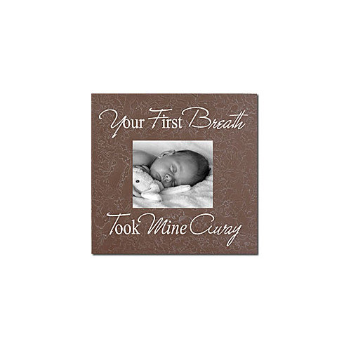 Forest Creations Your First Breath Took Mine Away Home Frame