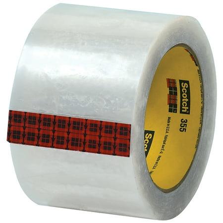 Box Partners 355 Carton Sealing Tape, 3x55 Yards, Clr,6/CS - BXP T9053556PK