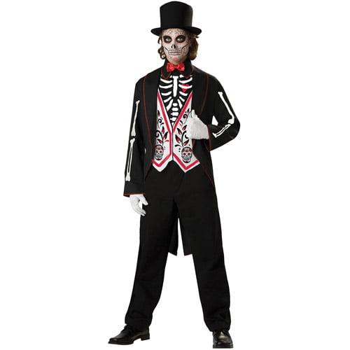 Skeleton Groom Adult Halloween Costume