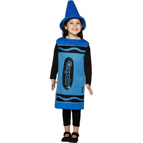 Crayola blue toddler costume