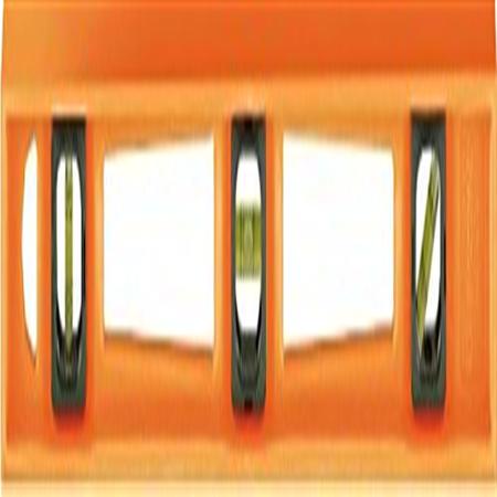 Johnson Level 7718-O 18 in. Orange Structo-Cast Level - 3 Vial