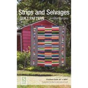 Strips and Selvages Quilt Pattern