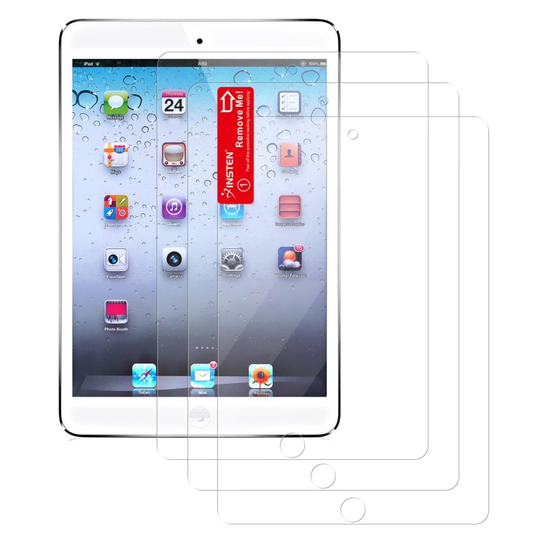 Insten 3-piece Screen Protector Guard For Apple iPad Mini 1 / 2 with Retina Display / 3 (Fit iPad Mini 1/2/3) Tablet