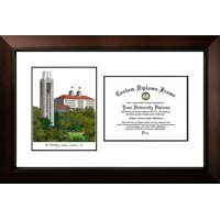 "University of Kansas 8.5"" x 11"" Legacy Scholar Diploma Frame"