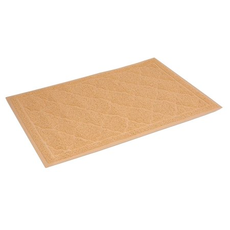 Internet's Best Cat Litter Mat | 34 x 24 | Large | Kitty Litter Mat and Trap | Crystal Catcher Mat and Scatter Control | Soft Paw Touch |