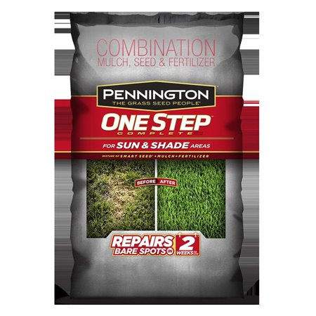 Pennington Seed 3995750 8.3 lbs One Step Complete for Sun & Shade Areas