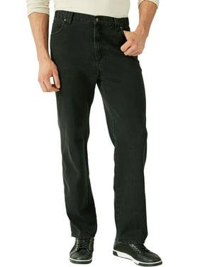 Liberty Blues Men's Big & Tall Liberty Blues Loose-fit Side Elastic 5-pocket Jeans