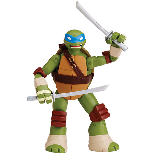 Teenage Mutant Ninja Turtles Battle Shell Leonardo Action Figure