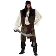 Adult Plus Rogue Pirate Costume California Costumes 1641 by California Costumes
